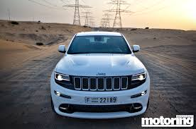 jeep srt 2015 2015 jeep grand cherokee srt video reviewmotoring middle east car