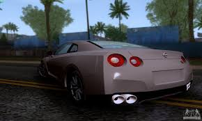 nissan gtr gta v nissan gtr r35 tuneable for gta san andreas