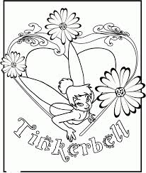 tinkerbell coloring book coloring