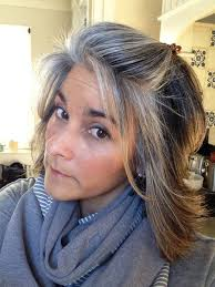 growing out grey hair with highlights google search clindy s
