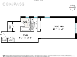 streeteasy 310 west 55th street in hell u0027s kitchen 4b sales