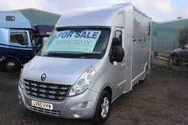renault master 2015 renault master 3 5t sat nav horsebox for sale by central england
