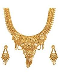 wedding gold sets necklace set buy necklace set online at best prices in india