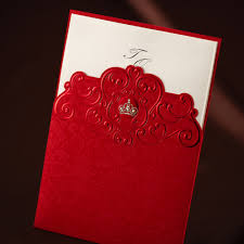 Classic Invitation Card Card Leather Picture More Detailed Picture About Classic Red