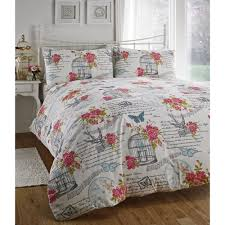 dreams n drapes lynette multi floral birdcage duvet set dreams n