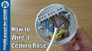 how to wire a pendant light how to wire a ceiling rose lighting circuits explained ceiling