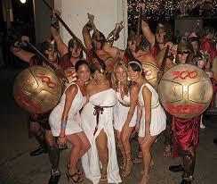 Spartan Costume Halloween Starbulletin 2007 10 30