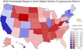 Wisconsin On The Map by Daily Kos Elections U0027 Median District Scores Show How Strong The