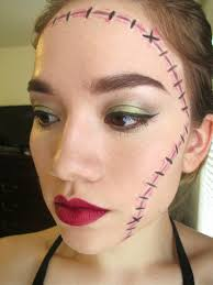 easy face makeup for halloween easy makeup for a killer halloween look from mane u0027n tail