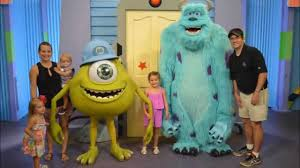 hollywood studios monsters meet greet sully mike