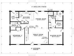 two bedroom cabin floor plans new one story two bedroom house plans new home plans design