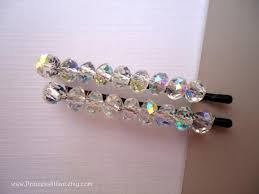 decorative hair pins bridal crystals beaded bobby pins sparkly crystals