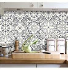 sticker meuble cuisine patchwork black tiles stickers future home kitchen