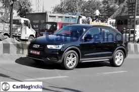 bmw x1 vs audi q3 2015 audi q3 facelift spied in india w subtle cosmetic updates