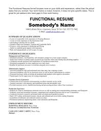 production resume samples work history resume example template barback resume examples resume format 2017