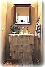 Curtain Sink by Bathroom Sink Bathroom Sink Curtain Ruffled Skirt Tutorial Top