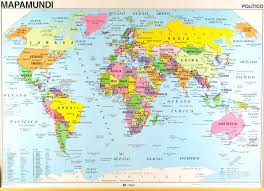 Map Of Europe Asia by Close Ups Of The World Map In Spanish By Edigol Zoom