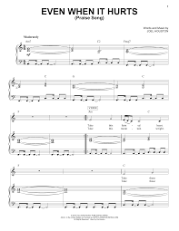 Home Chris Tomlin by Even When It Hurts Praise Song Sheet Music Direct