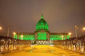 sf city hall lights st patrick s day san francisco city hall every year she lights up