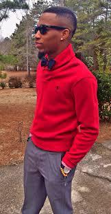 sweater by ralph lauren pants by ralph lauren bow tie by jos a