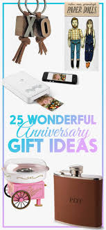 anniversary gift ideas 25 heartwarming anniversary gift ideas