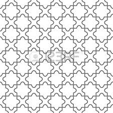 simple geometric ornament on the floor royalty free cliparts