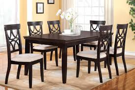Round Table Size For 6 by Chair Dining Table For 6 Round Set With Chairs Dr Dining Table Set