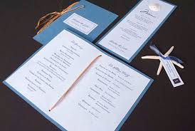 wedding program designs 30 wedding program design ideas to guide your party guest