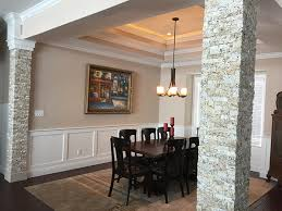 Dining Room Columns Imposing Dining Room Columns With Other Feel It Home Interior
