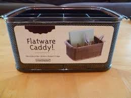 dining room interesting flatware caddy for kitchen and home