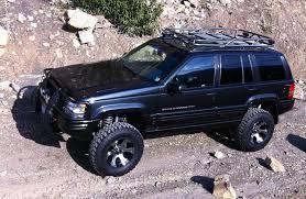 1994 jeep grand accessories custom black jeep zj jeep grand zj 1993 1998