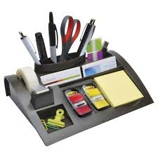Post It Desk Organizer 3m Post It C50 Desk Organiser Set Officeworks