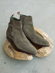 s jodhpur boots uk carmina shoemaker jodhpur boots in loden suede shoes and boots