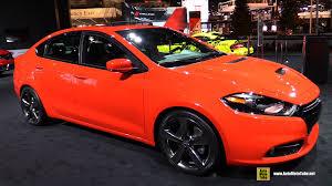 Dodge Dart 2014 Interior 2016 Dodge Dart Gt Exterior And Interior Walkaround 2016
