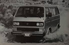 volkswagen vanagon blue feature flashback 1986 volkswagen vanagon syncro motor trend