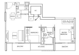 Bugis Junction Floor Plan The Line Tanjong Rhu 6100 1500 Showflat
