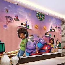 animated wall murals promotion shop for promotional animated wall custom photo 3d wall murals cartoon animation crazy alien children s room bedroom straw texture wallpaper wall painting decor 3d