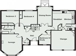 Bedroom Plans 5 Bedroom Bungalow In Ghana 5 Bedroom Bungalow Floor Plans 5