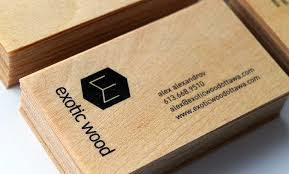 cards for business wooden business cards for wood ottawa idapostle