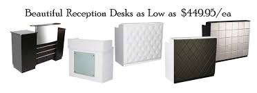 Hairdressing Reception Desk Salon Equipment Salon Furniture Salon Equipment Packages