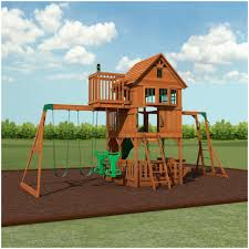 backyards amazing backyard discovery playsets skyfort ii wooden