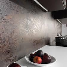 gres cerame plan de travail cuisine carrelage d extérieur mural en grès cérame finition métallisée