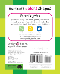 2 Colors That Go Together by Amazon Com Numbers Colors Shapes First 100 9780312510817