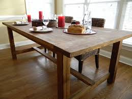 antique and warm distressed farmhouse dining table