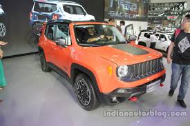 jeep renegade orange 2017 jeep renegade could launch in india after compass report