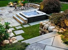 Backyard Gardening Ideas With Pictures Best 25 Hot Tubs Landscaping Ideas On Pinterest Hot Tubs