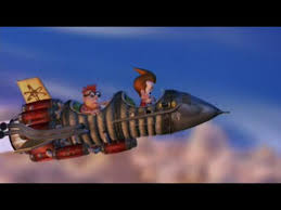 jimmy neutron mark ii rocket scenes