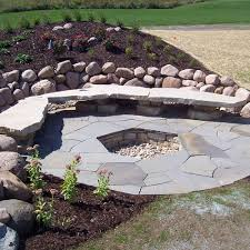 Fire Pit Kit Stone by Natural Stone Fire Pit Kits Or Custom Designs Lemke Stone Products