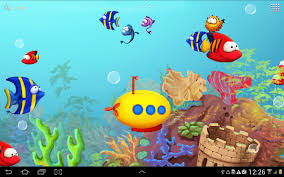 halloween fish tank background aquarium live wallpaper android apps on google play