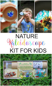 nature kaleidoscope kit for kids run wild my child